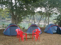 Camping at River Side